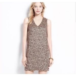 NWT Ann Taylor Leopard Print Shift Dress M